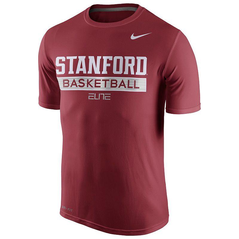 Men's Nike Stanford Cardinal Basketball Practice Dri-FIT Tee