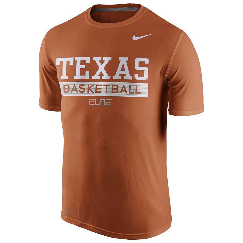 Men's Nike Texas Longhorns Basketball Practice Dri-FIT Tee