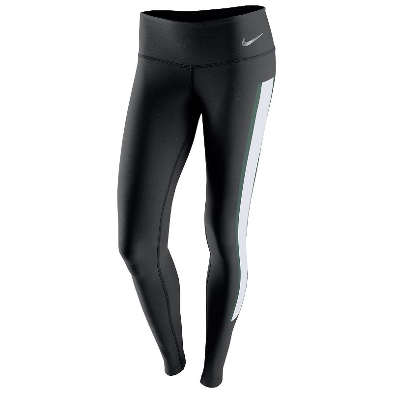 Women's Nike Michigan State Spartans Champ Drive Running Tights