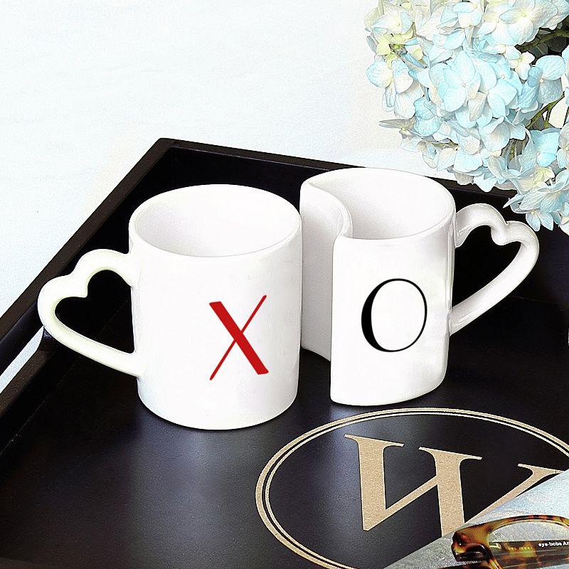 Cathy's Concepts XOXO 2-pc. Coffee Mug Set