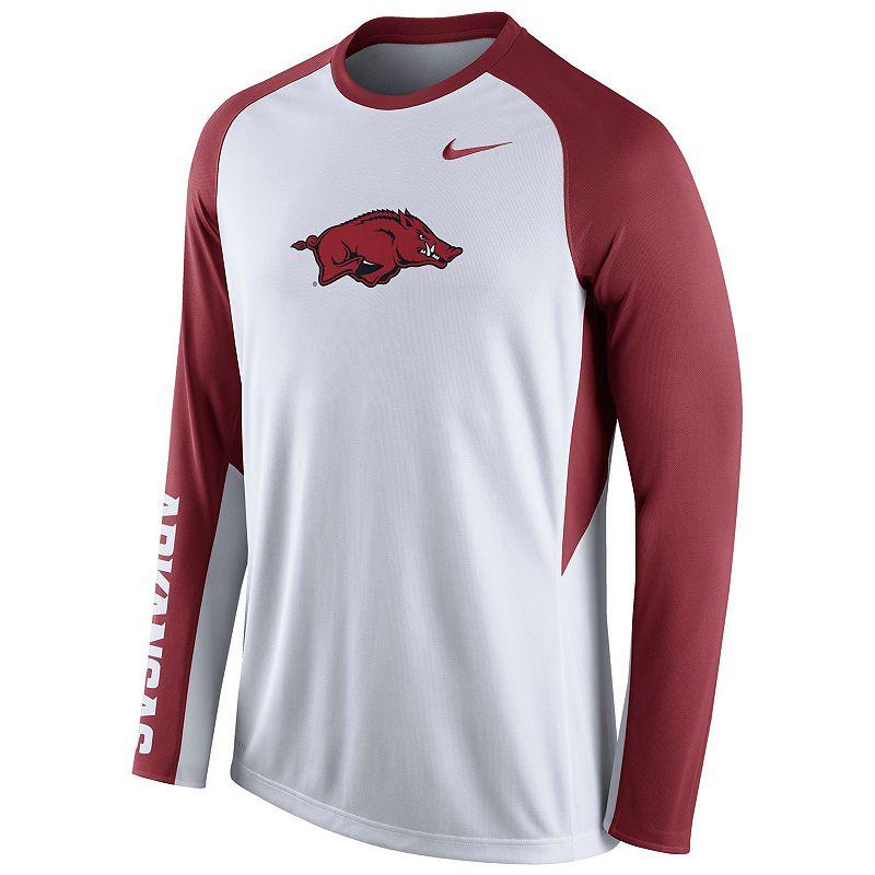 Men's Nike Arkansas Razorbacks Elite Shootaround Performance Tee