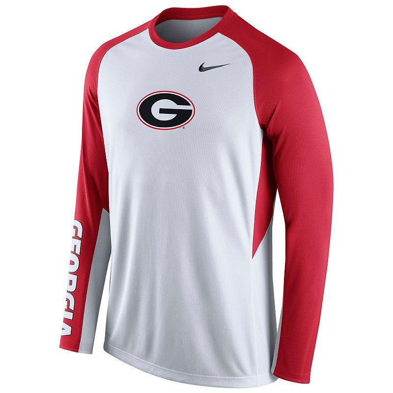 Men's Nike Georgia Bulldogs Elite Shootaround Performance Tee