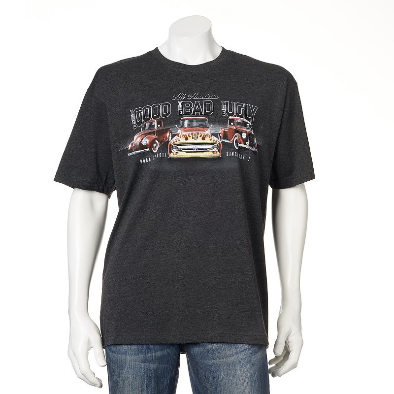 Men's Newport Blue Good Bad Ugly Hot Rod Tee