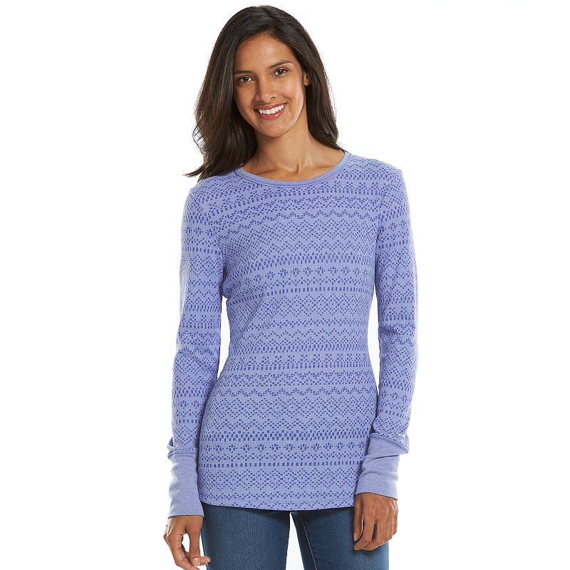 Columbia Weekday Waffle Thermal Crewneck Top - Women's