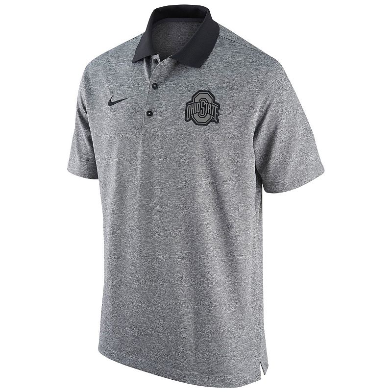 Men's Nike Ohio State Buckeyes Gridiron Performance Polo