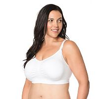 Plus Size Maternity Oh Baby by Motherhood™ Seamless Nursing Bra