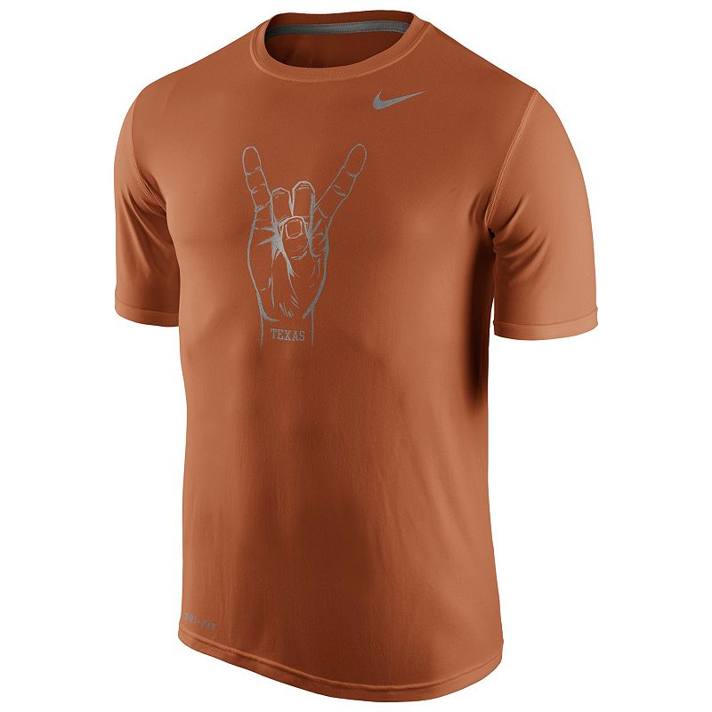 Men's Nike Texas Longhorns Legend Championship Dri-FIT Cotton Tee