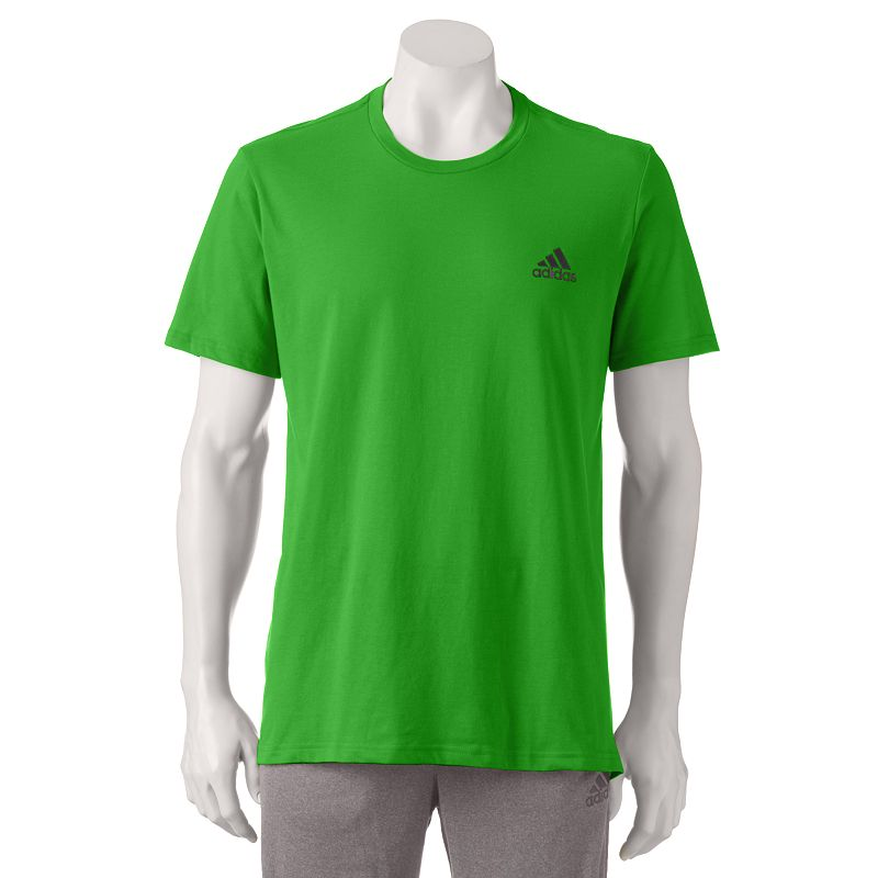 men 39 s adidas the go to performance tee dealtrend. Black Bedroom Furniture Sets. Home Design Ideas