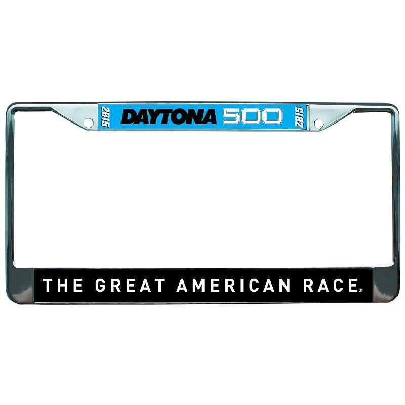 2015 Daytona 500 Metal License Plate Frame