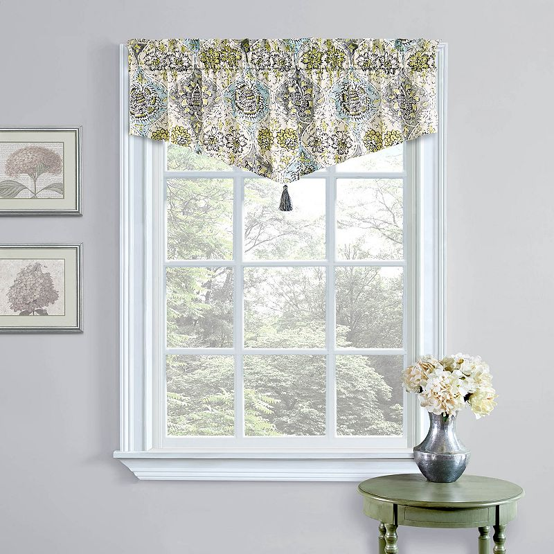 Waverly Medallion Ascot Valance - 52'' x 20''