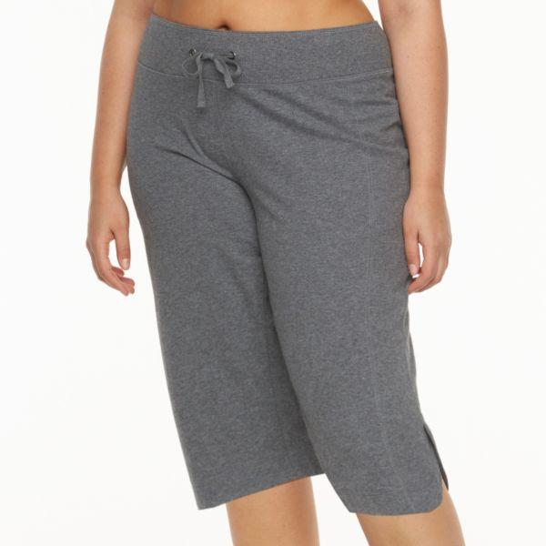 Plus Size Tek Gear® Knit Skimmer Pants