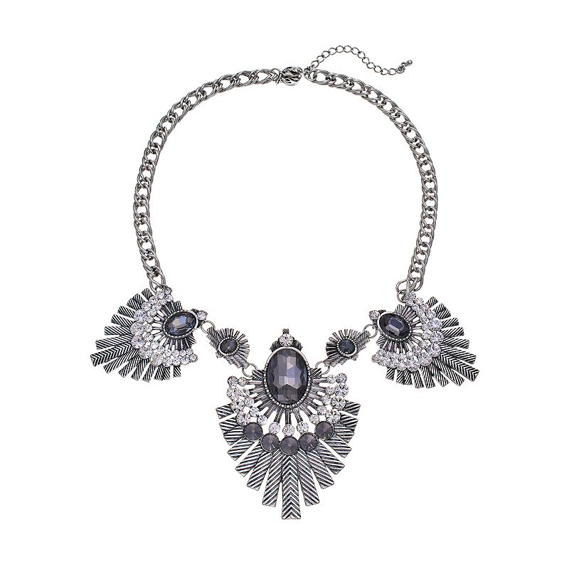 GS by gemma simone Molten Metals Collection Bib Necklace