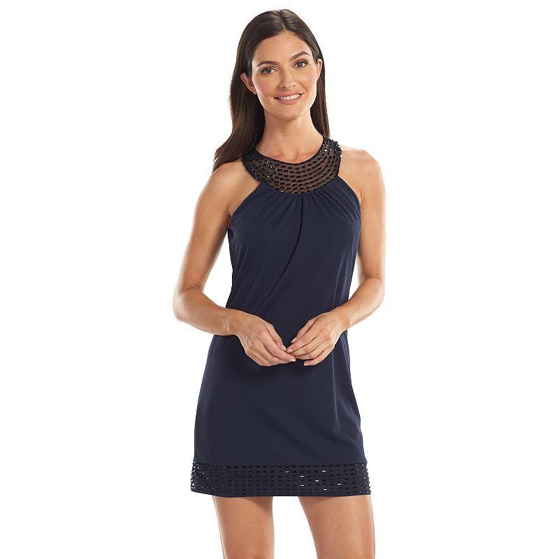 1 by 8 Embellished Shift Dress - Women's