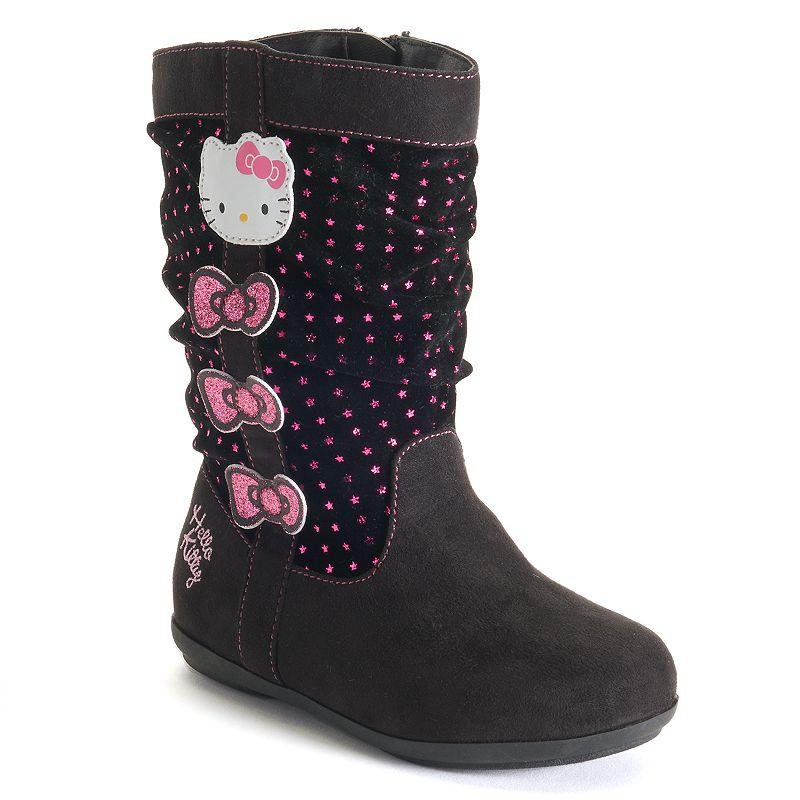 Hello Kitty® Toddler Girls' Slouchy Glitter Boots