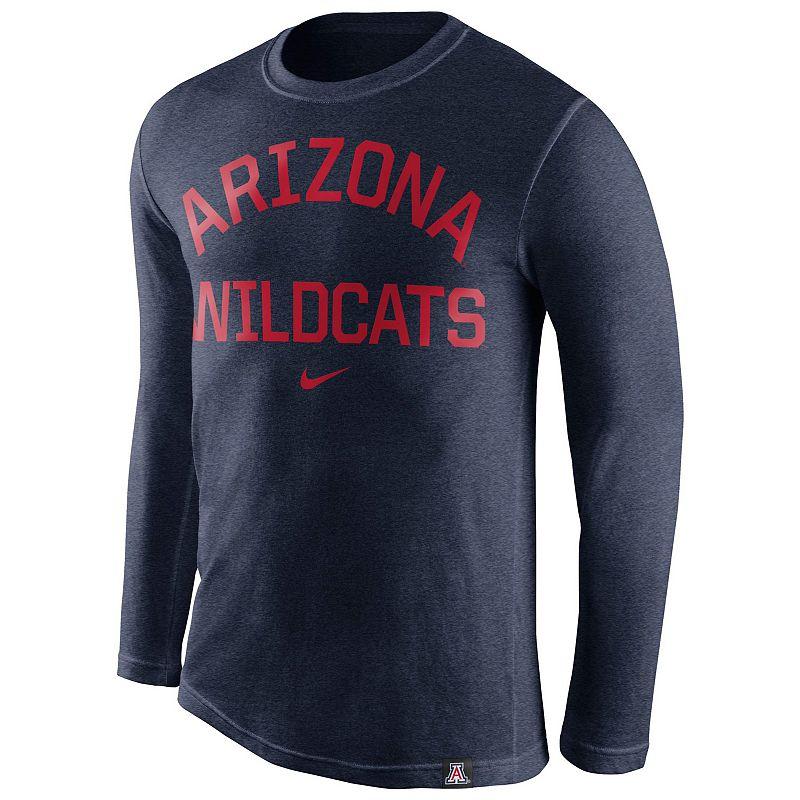 Men's Nike Arizona Wildcats Tri-Blend Tee