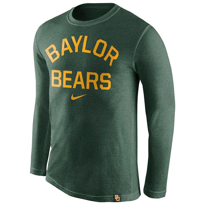 Men's Nike Baylor Bears Tri-Blend Tee