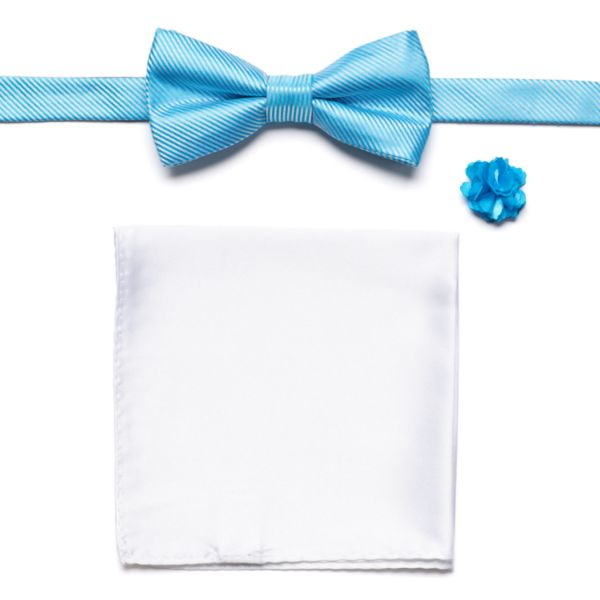 Apt. 9® Sand Bar Solid Pretied Bow Tie Set - Men