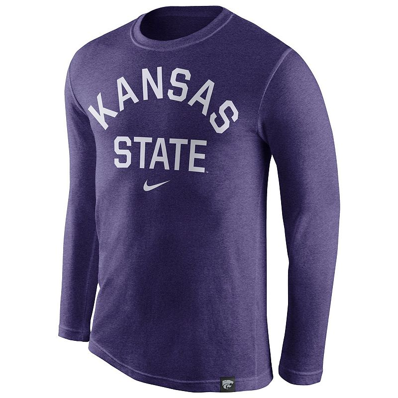 Men's Nike Kansas State Wildcats Tri-Blend Tee