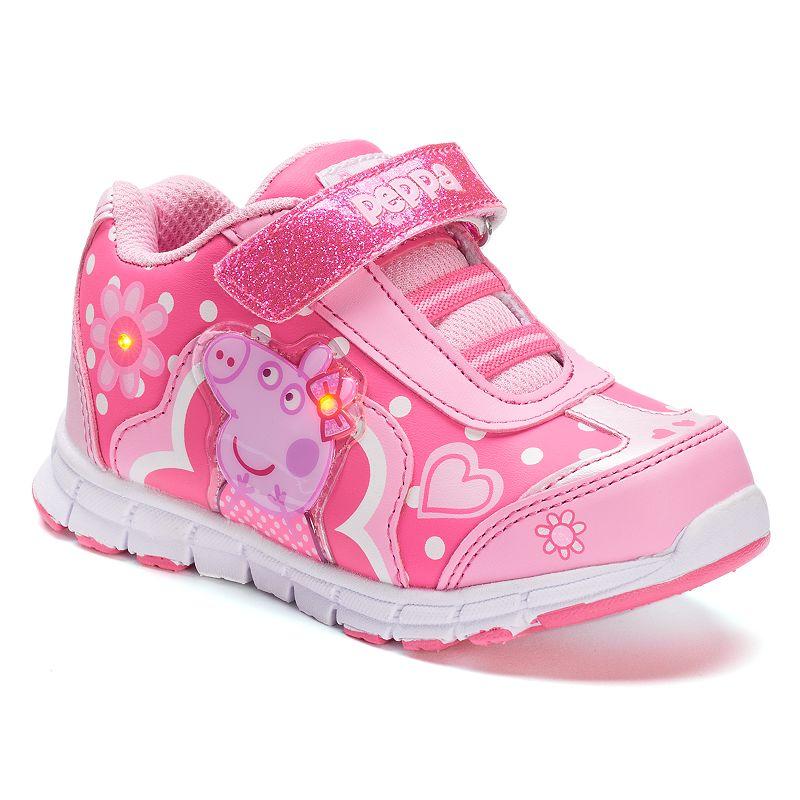 Peppa Pig Toddler Girls' Light-Up Sneakers