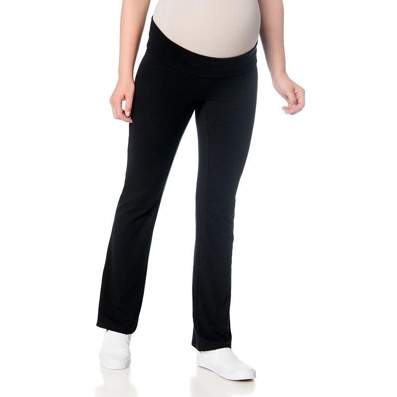Oh Baby by Motherhood™ Fold-Over Yoga Pants - Maternity