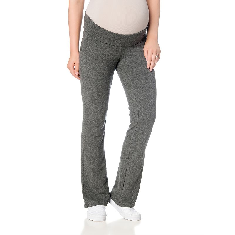 Oh Baby by Motherhood™ Fold-Over Yoga Pants - Maternity