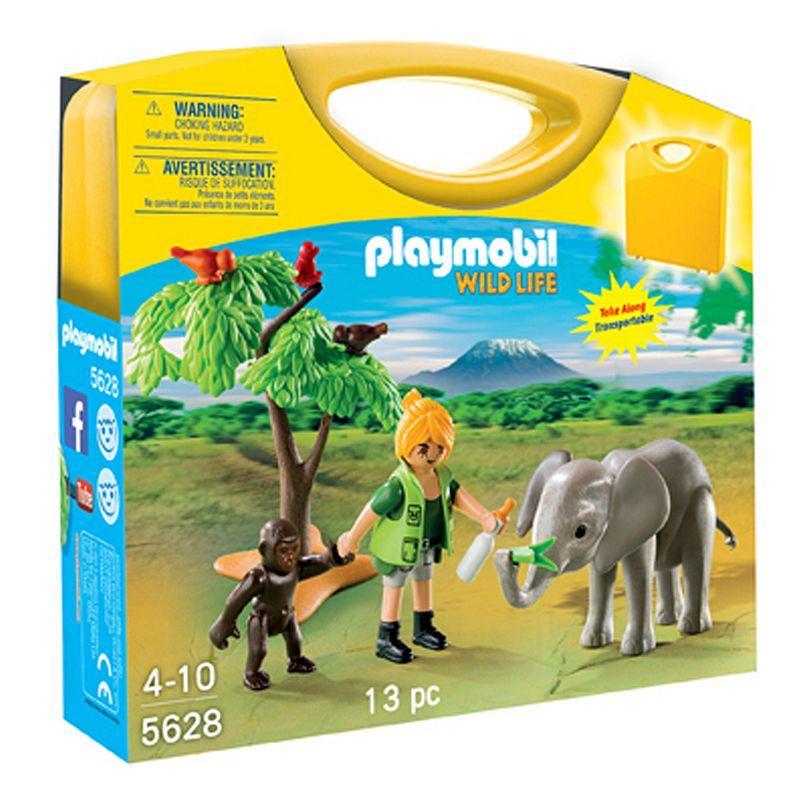 Playmobil African Safari Carrying Case Playset - 5628