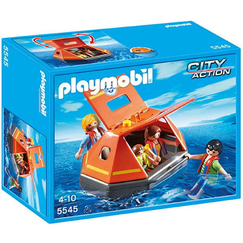 Playmobil Life Raft Playset - 5545