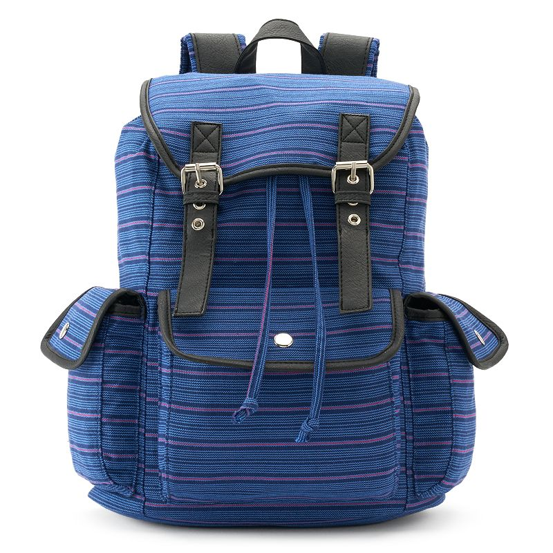 Candie's® Anna Striped Backpack
