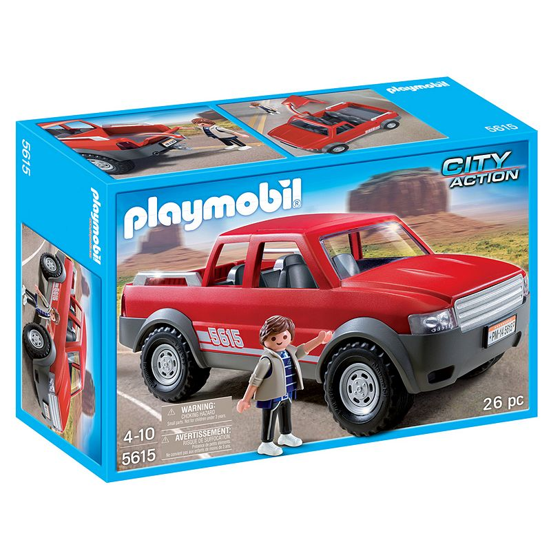 Playmobil Pickup Truck Playset - 5615