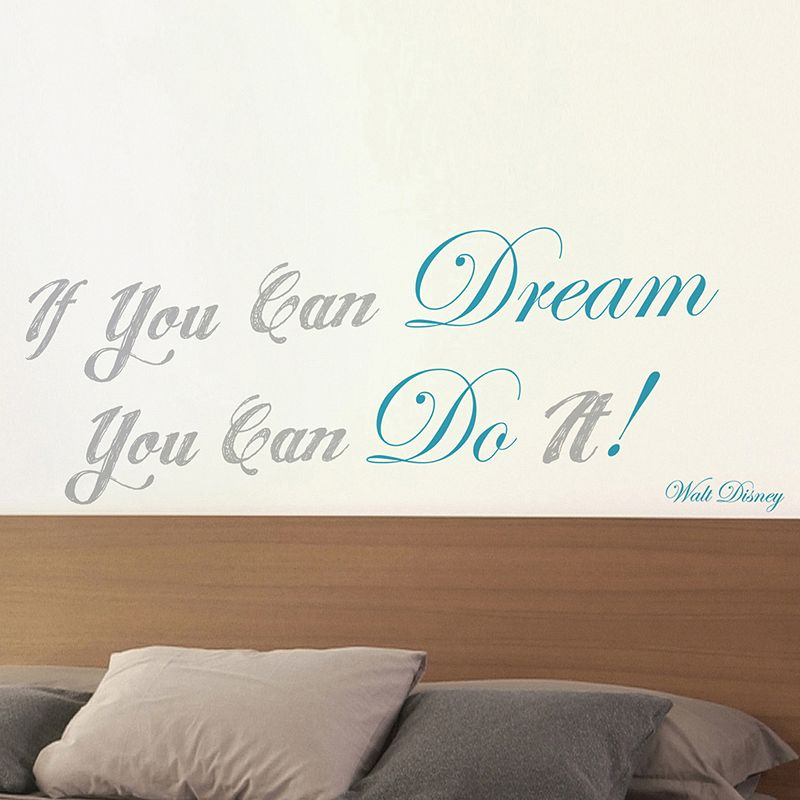 Home Decor Line ''If You Can Dream'' Wall Decal