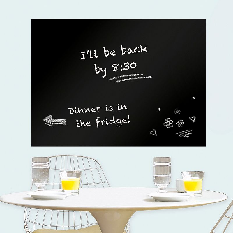 WallPops Large Chalkboard Message Board Wall Decal