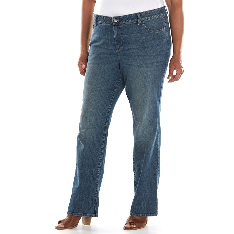 Plus Size SONOMA life + style® Bootcut Jeans