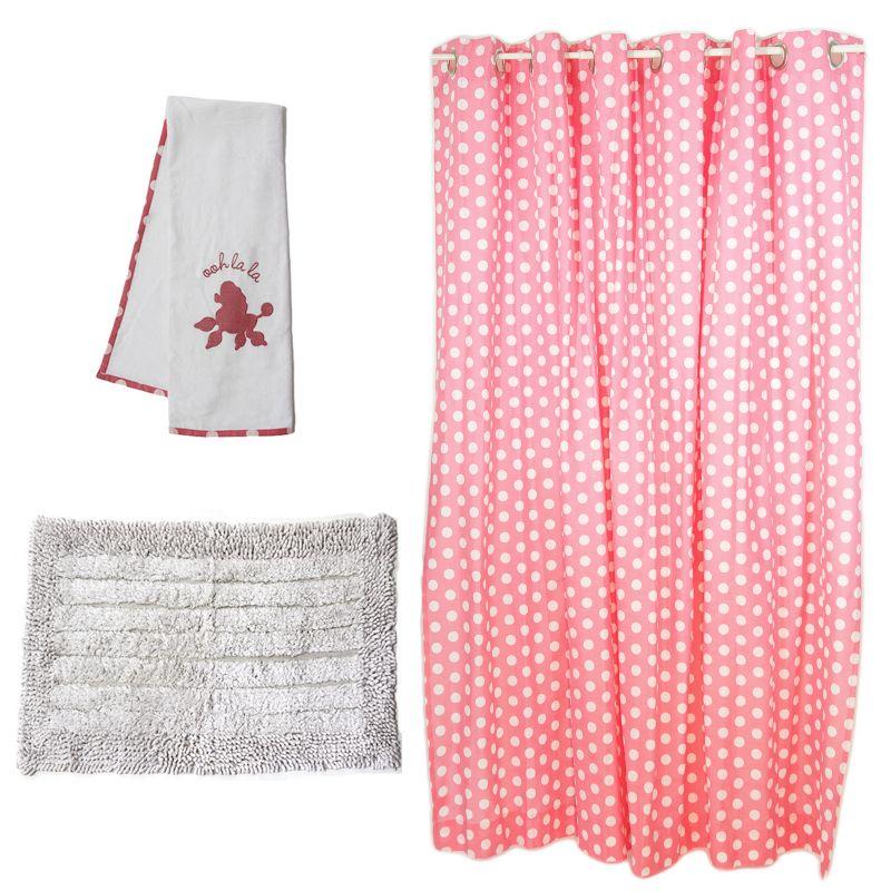 Girls pink bathroom supplies kohl s