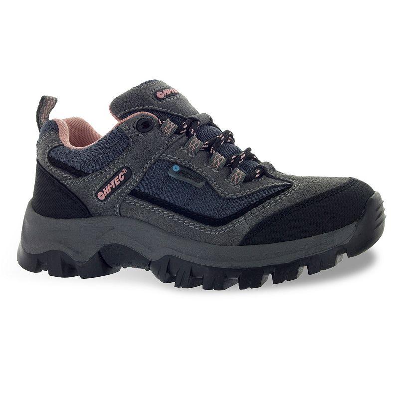 Hi-Tec Hillside Jr. Girls' Waterproof Low-Top Hiking Shoes