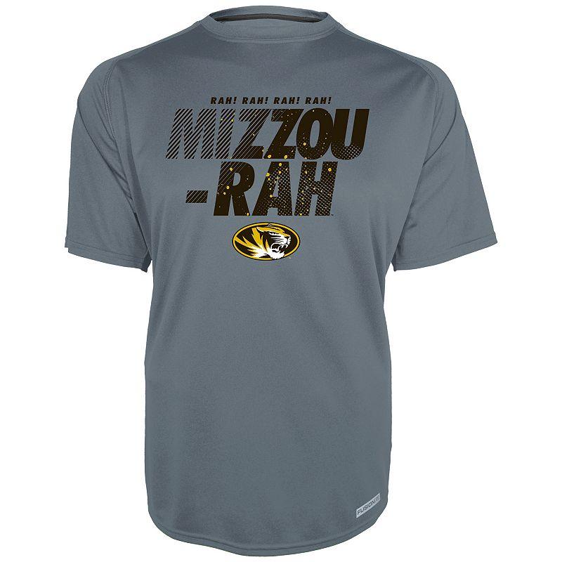 Men's Missouri Tigers Gray Training 2 Tee