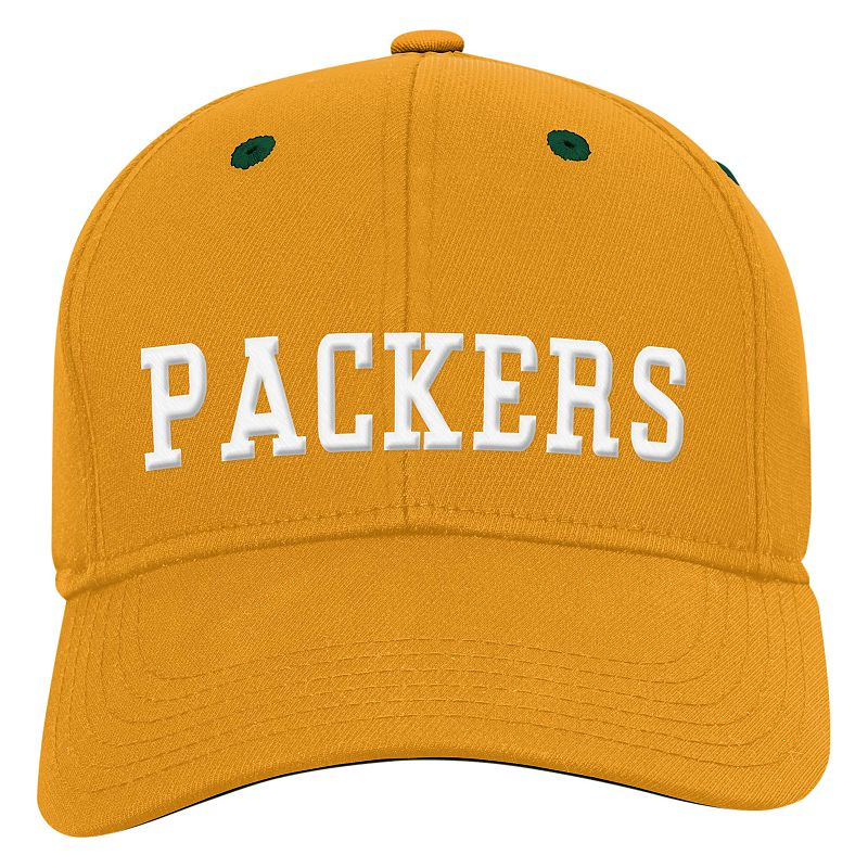 Youth Green Bay Packers Structured Flex-Fit Cap
