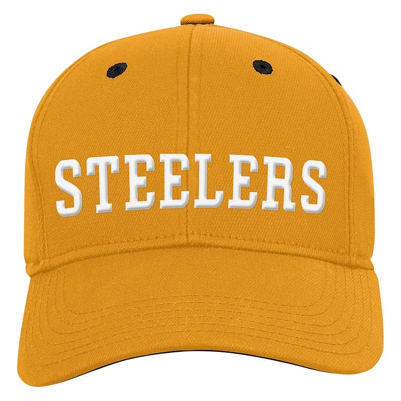 Youth Pittsburgh Steelers Structured Flex-Fit Cap