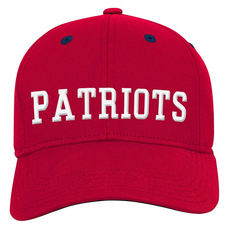 Youth New EnglandPatriots Structured Flex-Fit Cap