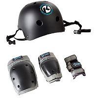 Kryptonics Helmet & Pads Set - Kids