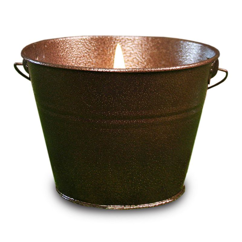 Citronella Hammered Copper Pail 18-oz. Candle