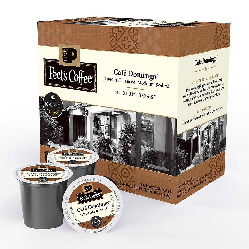 Keurig® K-Cup® Pod Peet's Coffee Café Domingo Medium Roast Coffee - 16-pk.