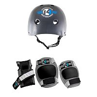 Kryptonics Starter 4-in-1 Helmet & Pad Set - Kids