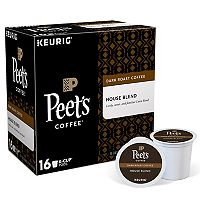 Keurig® K-Cup® Pod Peet's Coffee House Blend Dark Roast Coffee - 16-pk.