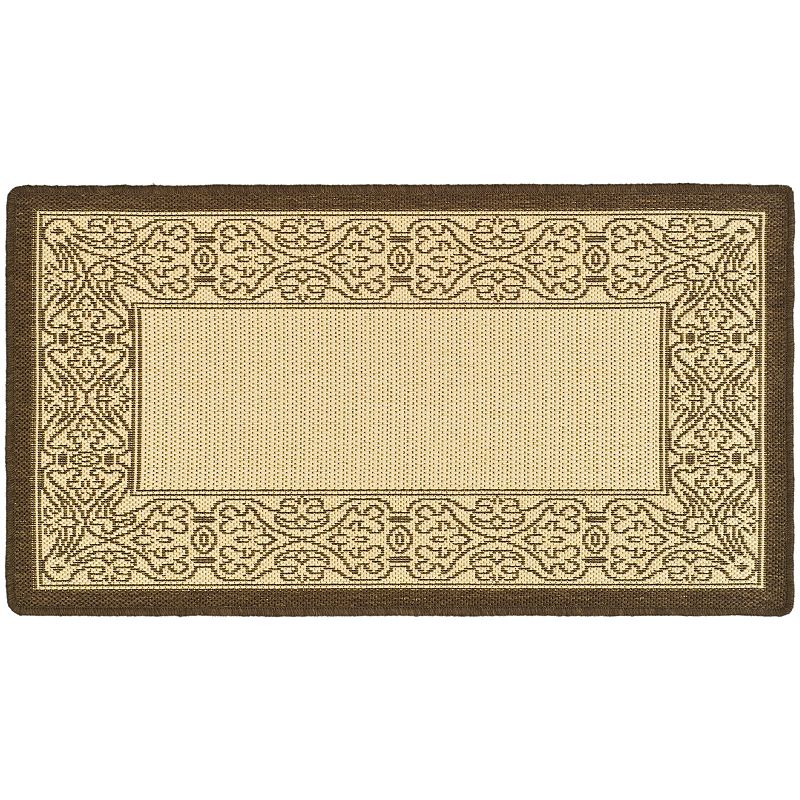 Safavieh Courtyard Border Indoor Outdoor Rug