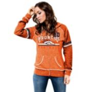 Majestic Denver Broncos Tame the Tide Fleece Hoodie - Women's