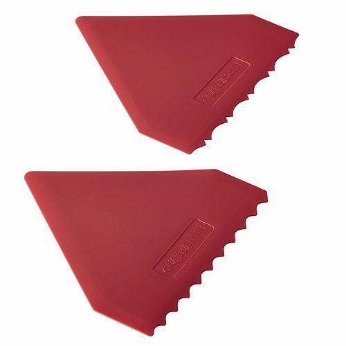 Cake Boss Icing Comb : Cake Boss Tools & Gadgets 2-pc. Plastic Icing Comb Set