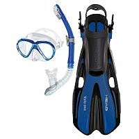 HEAD 3-pc. Marlin Purge Dry Snorkel Set