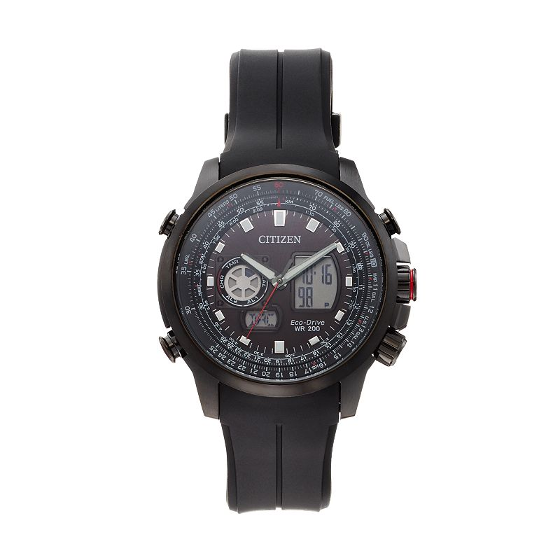 Citizen Eco-Drive Men's Promaster Air Analog & Digital Chronograph Watch - JZ1065-13E