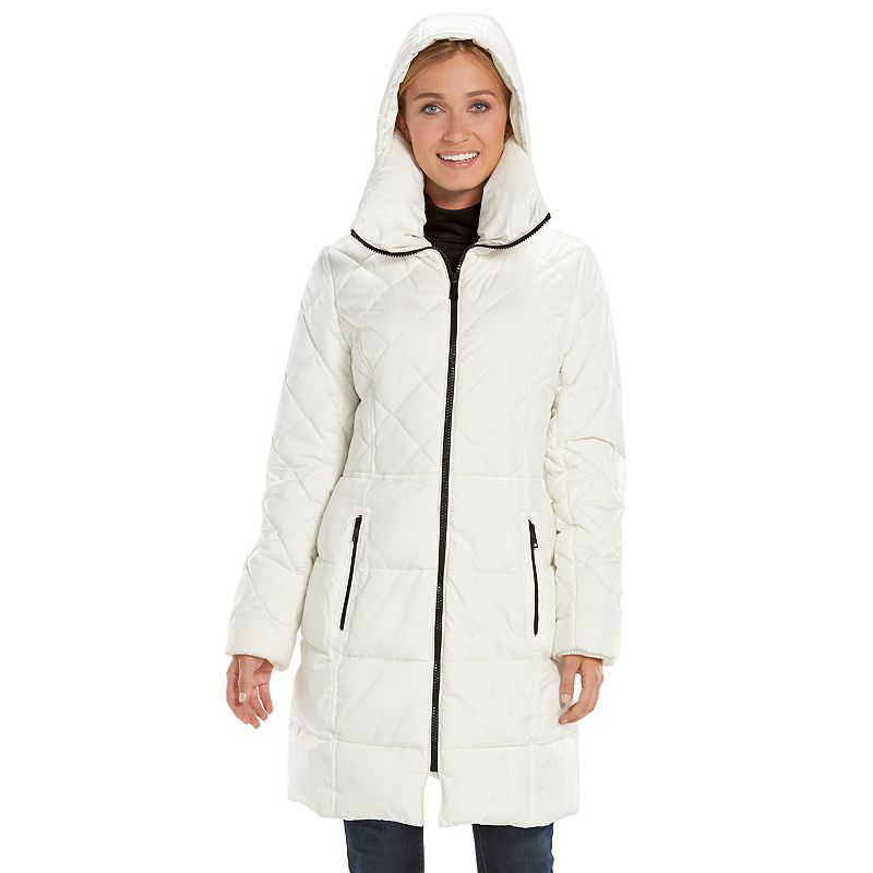 Women's Apt. 9® Hooded Puffer Walker Jacket