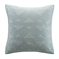 INK+IVY Cairo Embroidered Throw Pillow
